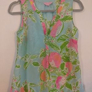 Lilly Pulitzer Silk Top XS